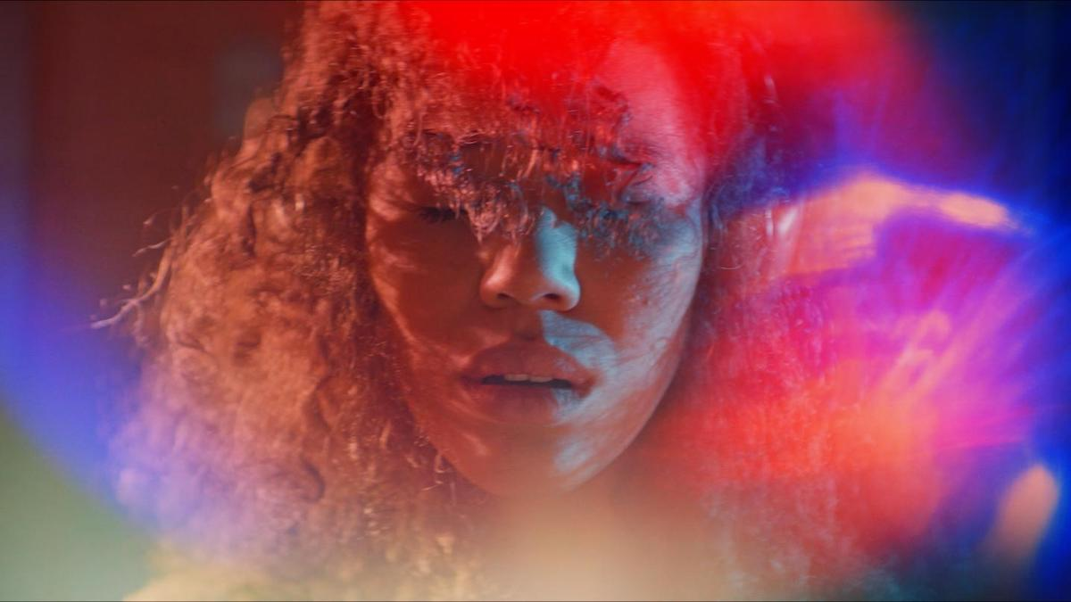 Sound Of Violence. Alexis (Jasmin Savoy Brown) experiencing synesthesia.