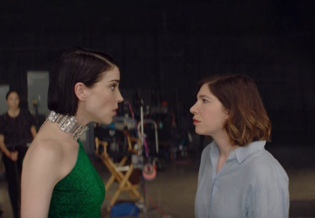 Annie Clark and Carrie Brownstein appear in The Nowhere Inn by Bill Benz, an official selection of the Midnight program at the 2020 Sundance Film Festival. Courtesy of Sundance Institute | photo by Minka Farthing Kohl.