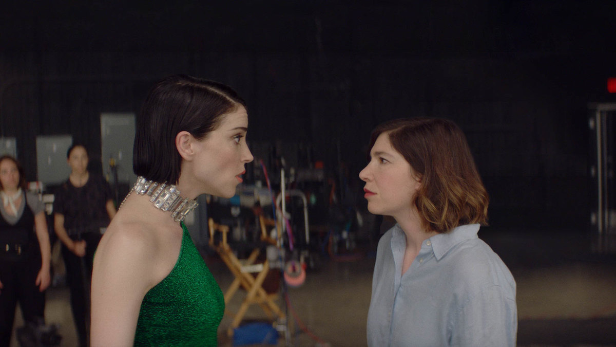 Annie Clark and Carrie Brownstein appear in The Nowhere Inn by Bill Benz