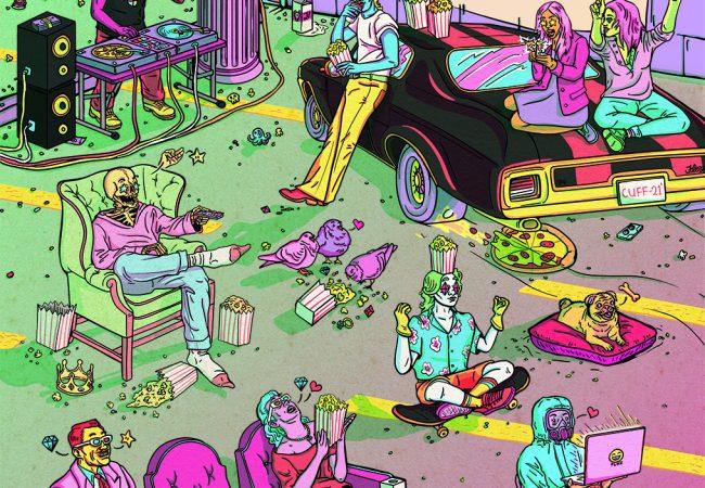 Calgary Underground Film Festival 2021 Poster