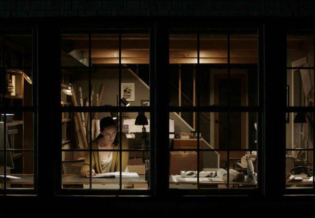 Rebecca Hall in The Night House by David Bruckner. | photo by Elisha Christian.