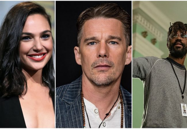 (l to r) Gal Gadot, Ethan Hawke and Shaka King to be honored at 10th Sun Valley Film Festival