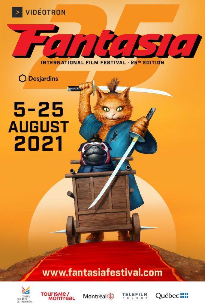 Fantasia International Film Festival 2021 Poster