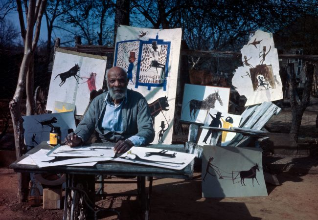 Bill Traylor: Chasing Ghosts (Bill Traylor Photo Credit: Horace Perry, Alabama State Council on Arts)