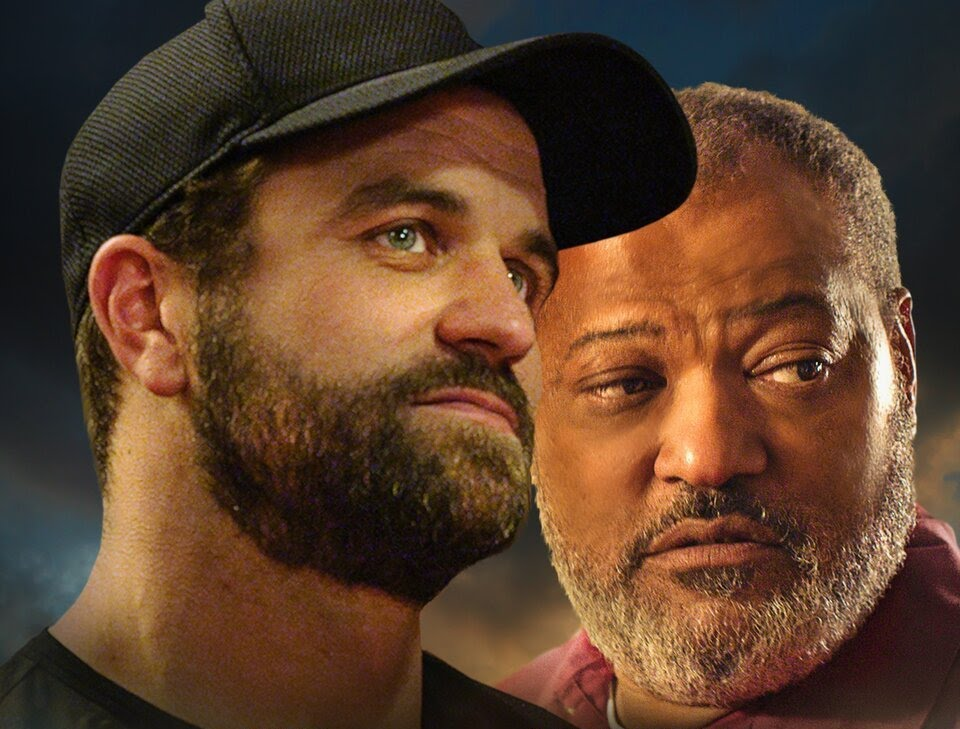 Under the Stadium Lights starring Milo Gibson and Laurence Fishburne