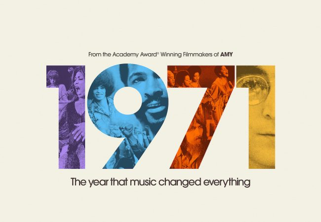 """1971: The Year That Music Changed Everything"" Apple TV+."