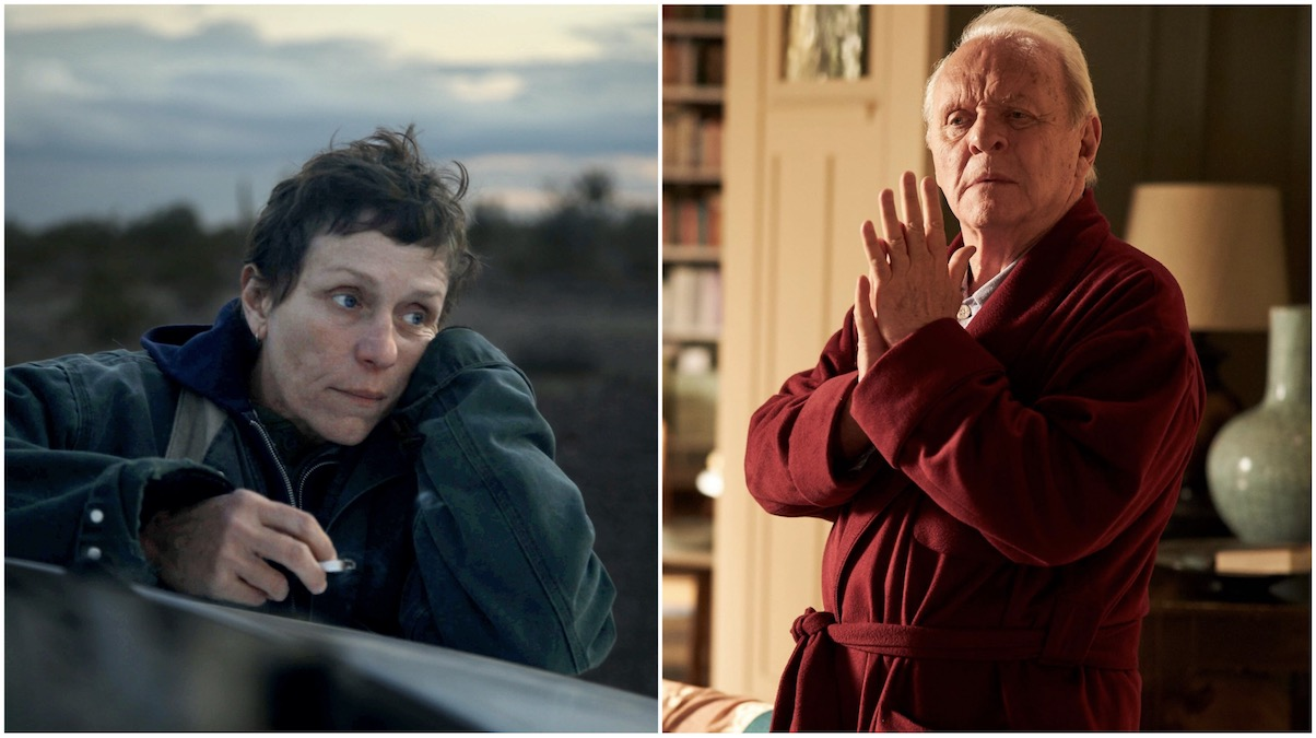 Frances McDormand wins best actress and Anthony Hopkins wins best actor at 2021 Oscars