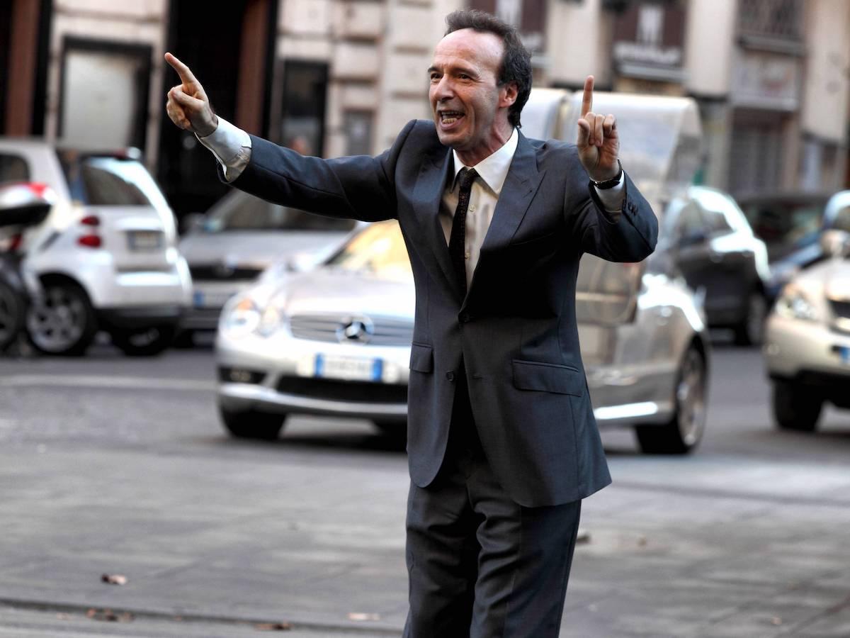 Roberto Benigni as Leopoldo in To Rome with Love.