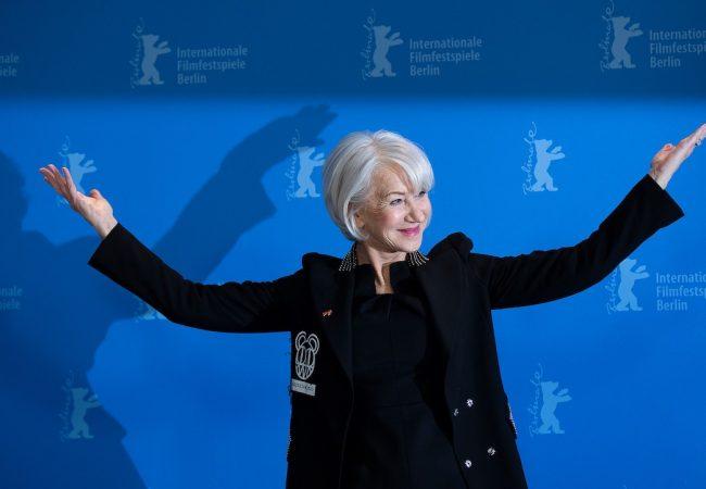 Dame Helen Mirren at Berlin Film Festival (Berlinale)