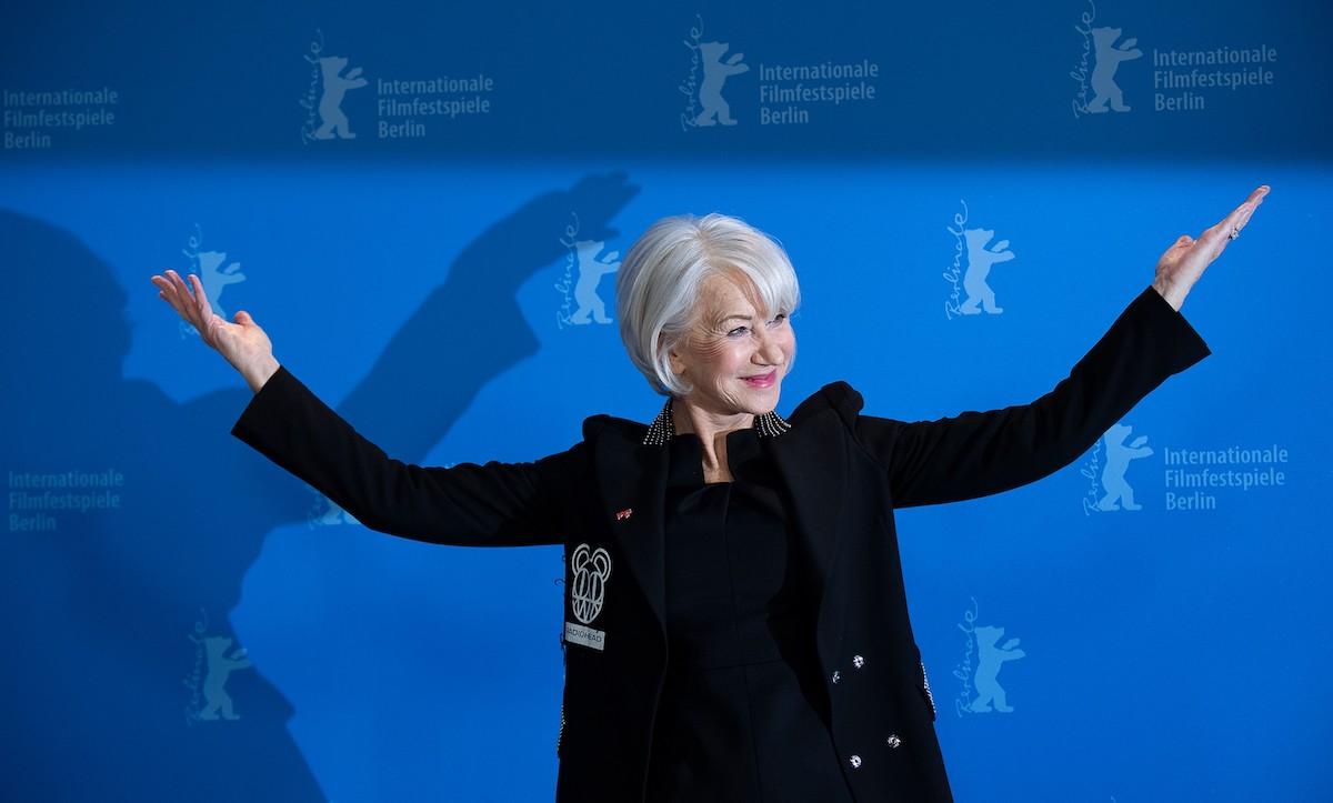 Dame Helen Mirren at Berlin Film Festival