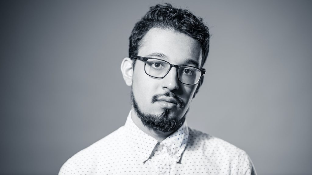 Zeshawn Ali , director of Two Gods. Photo credit: Paul McGeiver
