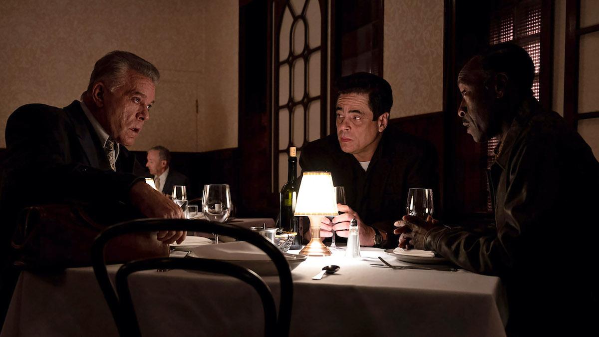 No Sudden Move stars Don Cheadle, Benicio del Toro, David Harbour, with Ray Liotta