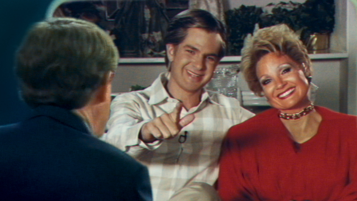 The Eyes of Tammy Faye, starring Andrew Garfield and Jessica Chastain