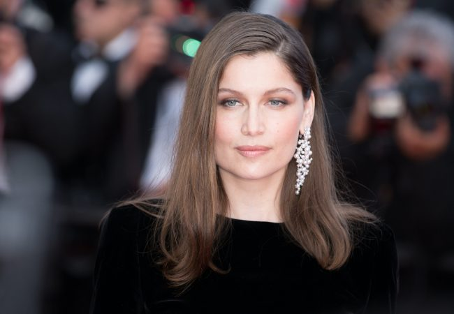 """CANNES, FRANCE - MAY 21: Laetitia Casta attends the """"The Meyerowitz Stories"""" screening during the 70th annual Cannes Film Festival at Palais des Festivals on May 21, 2017 in Cannes, France."""