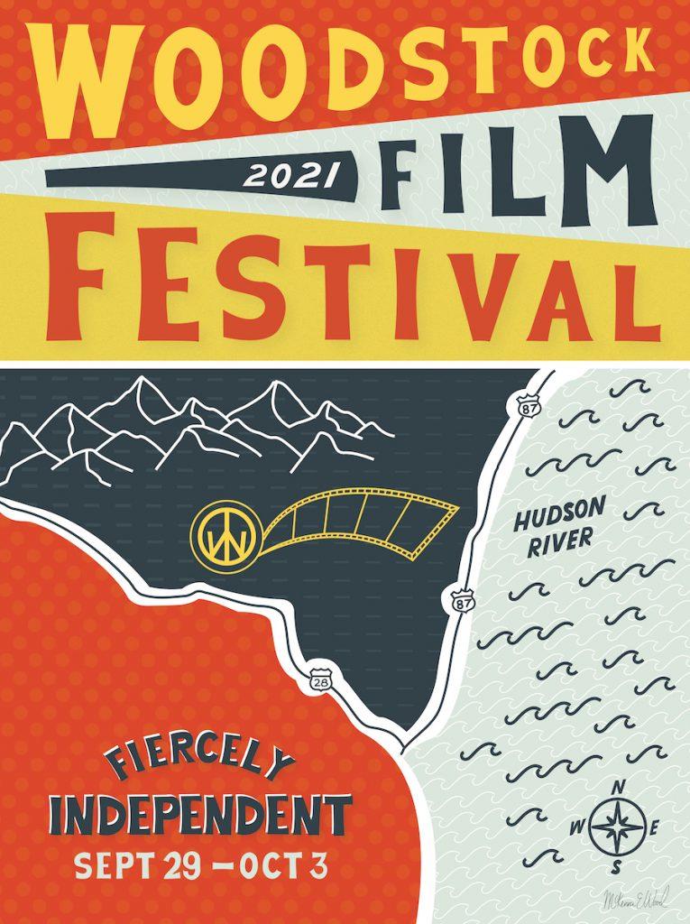 Woodstock Film Festival 2021 poster