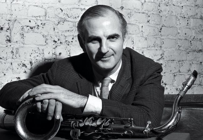 Ronnie's directed by Oliver Murray. Photo of Ronnie Scott / Greenwich Entertainment