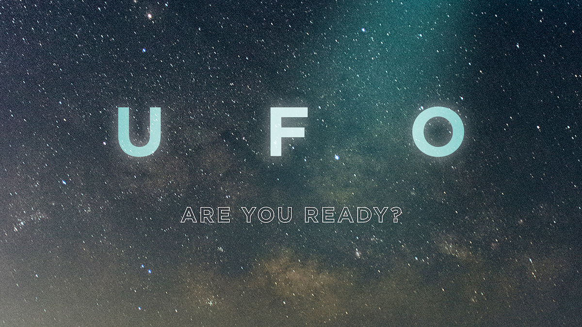 UFO, directed by Mark Monroe and Paul Crowder, from J.J. Abrams' Bad Robot and Glen Zipper