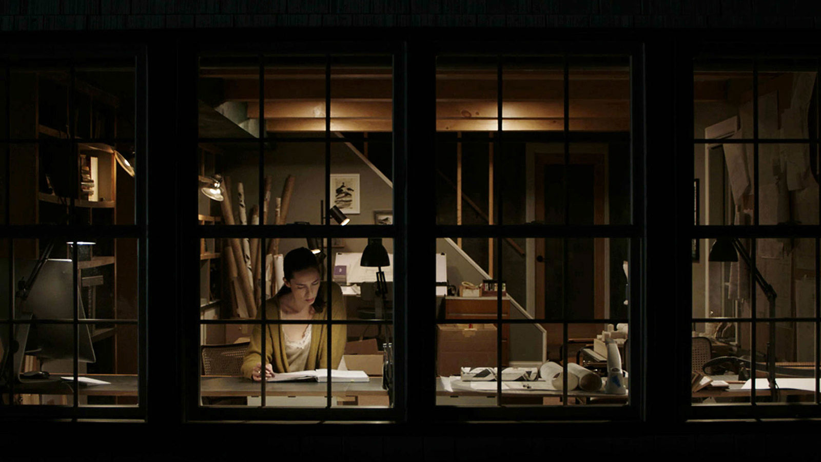 The Night House directed by David Bruckner and starring Rebecca Hall
