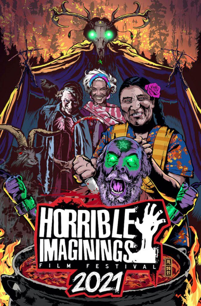 Horrible Imaginings Film Festival 2021 Poster