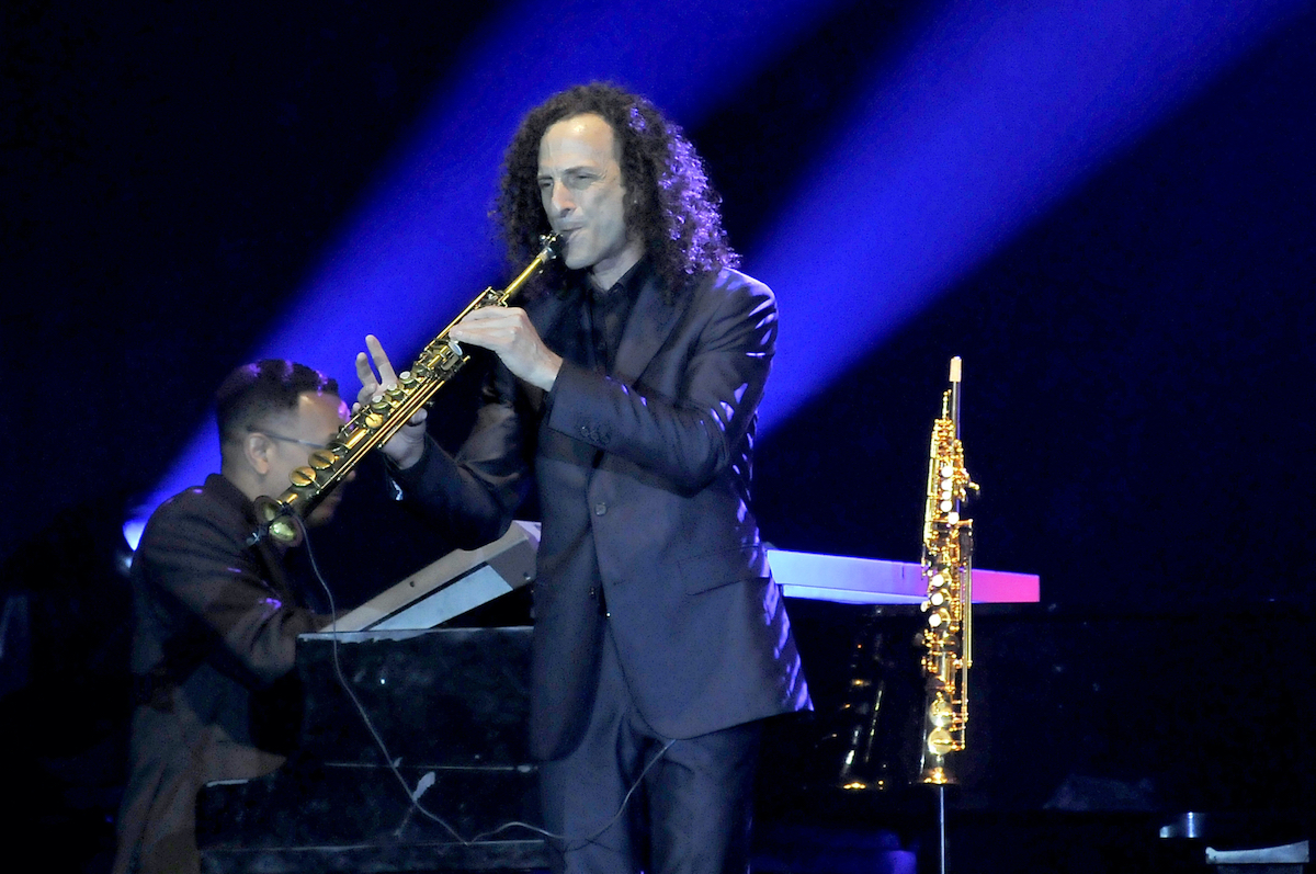 U.S. saxophonist Kenneth Bruce Gorelick, better known as Kenny G