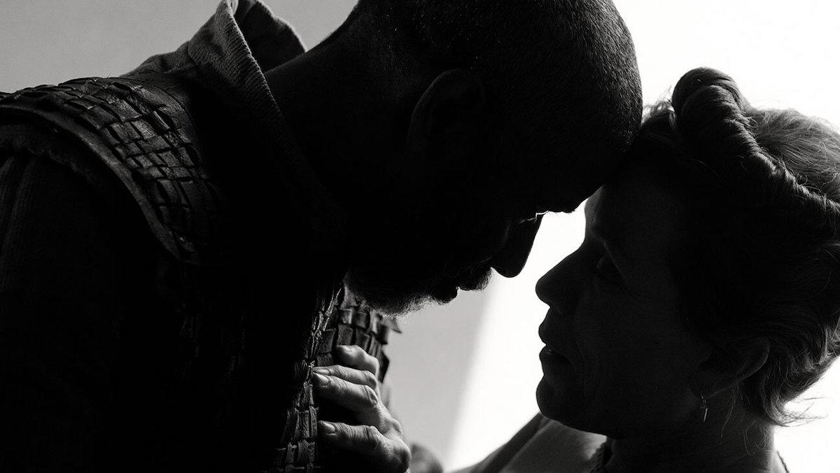 The Tragedy of Macbeth starring Frances McDormand and Denzel Washington