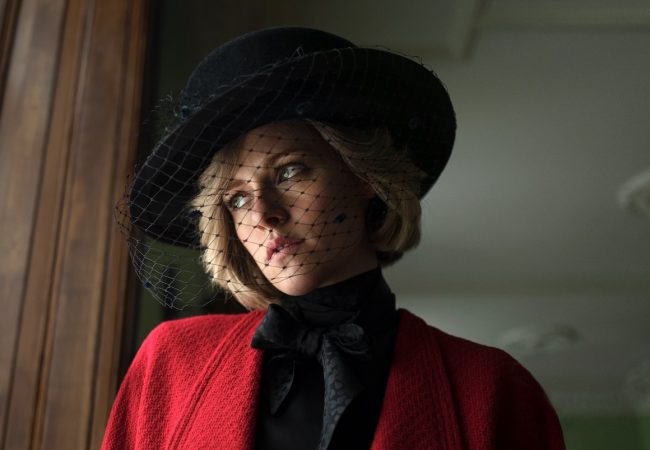 Kristen Stewart as Princess Diana in Pablo Larraín'sSpencer