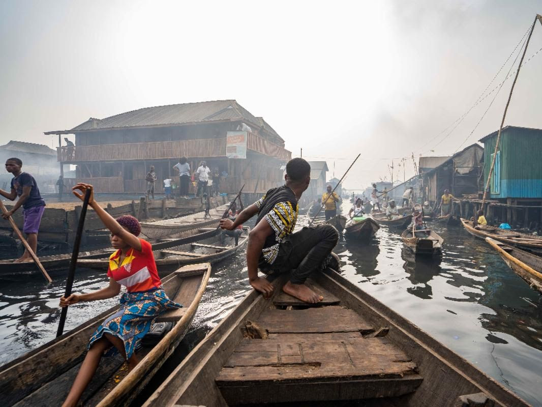 Noah's Raft, Lead Artists: Joel Kachi Benson, Tal Michael Haring