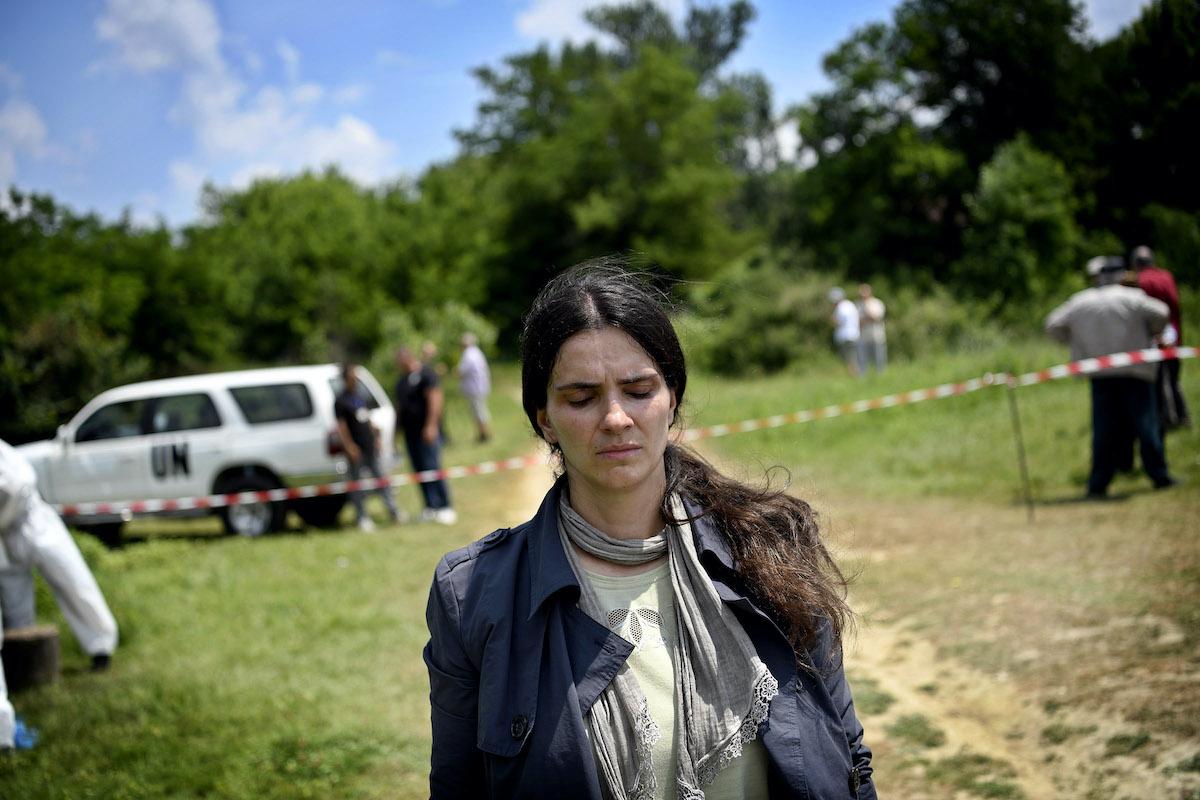 Yllka Gashi in HIVE, a film by Blerta Basholli.