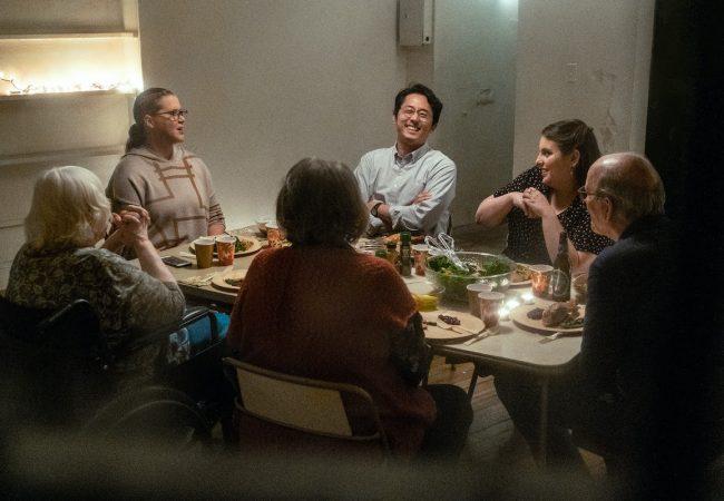 The Humans starring Richard Jenkins, Amy Schumer, and Steven Yeun.