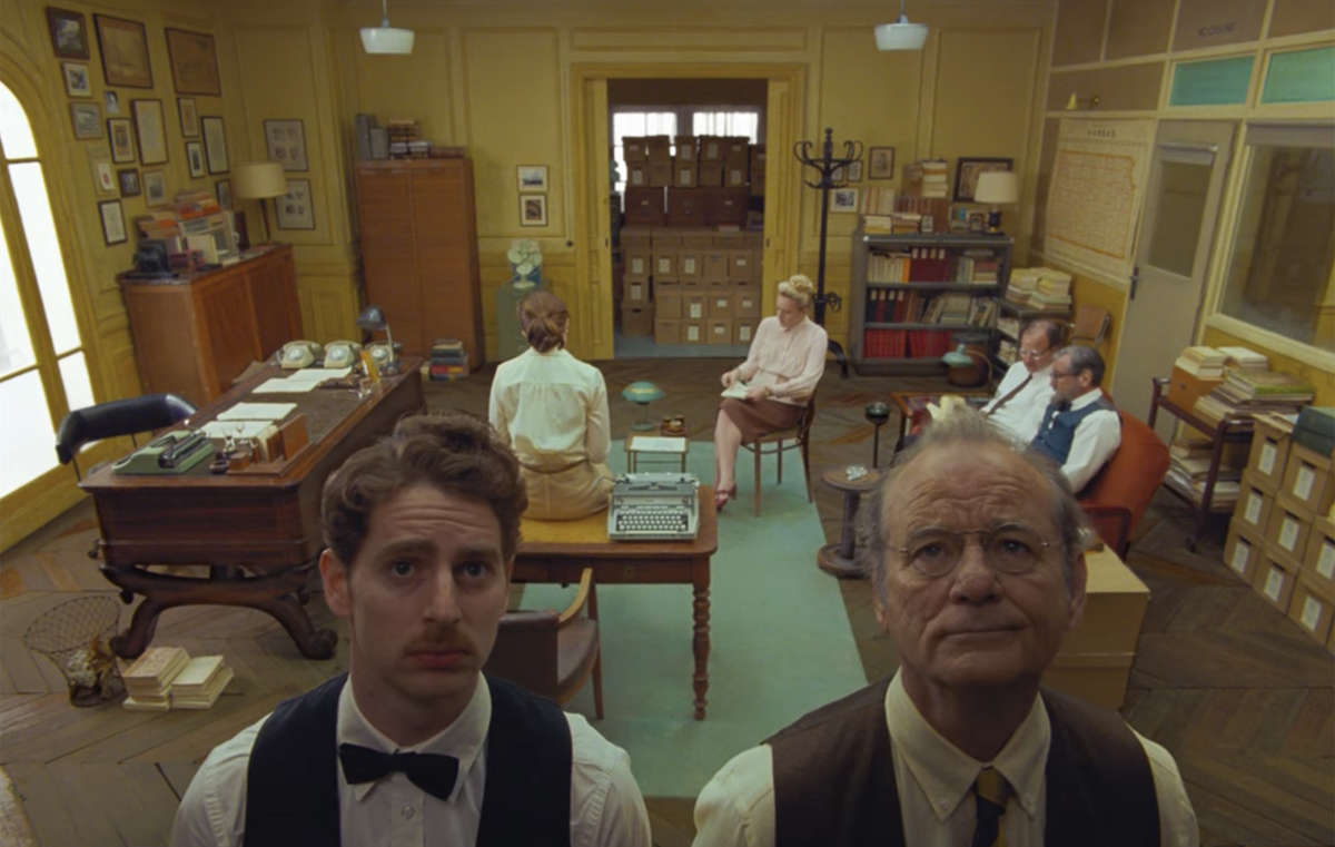 The French Dispatch directed by Wes Anderson