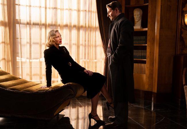 Nightmare Alley starring Bradley Cooper, Cate Blanchett