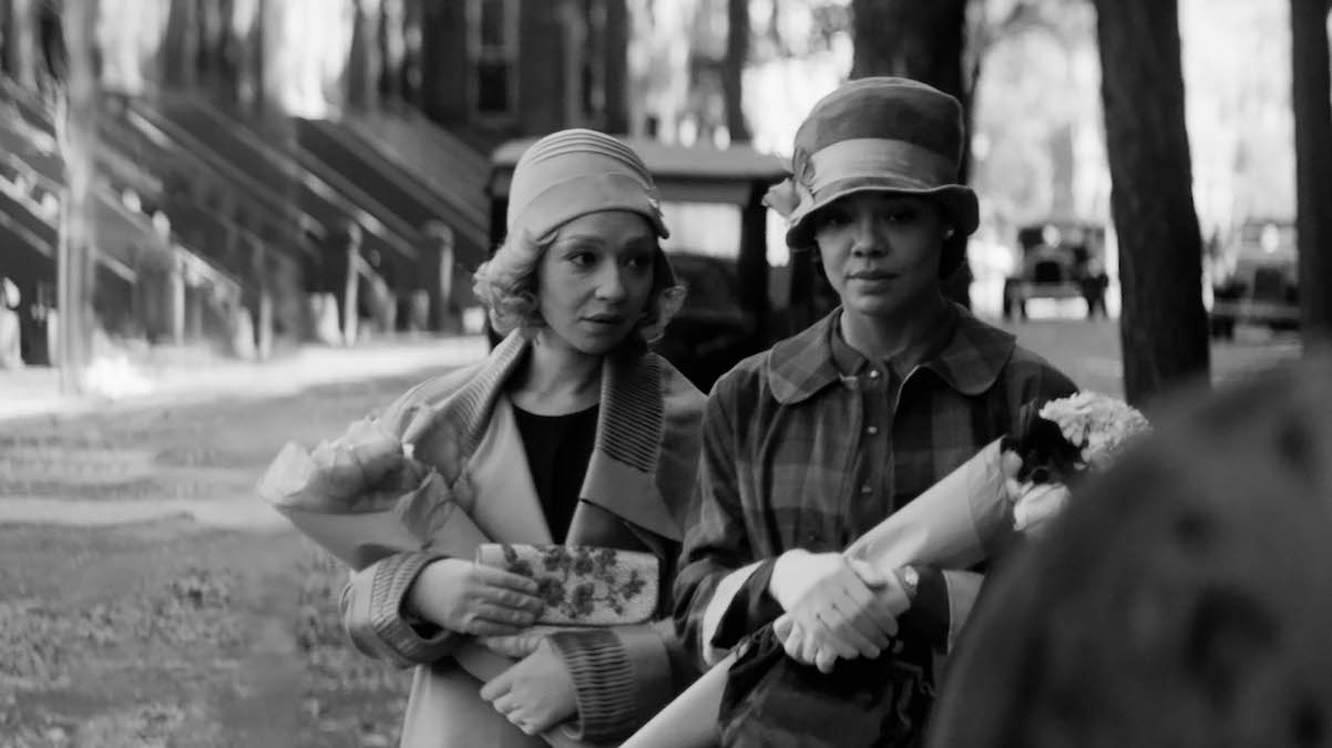 Ruth Negga and Tessa Thompson in Passing by Rebecca Hall