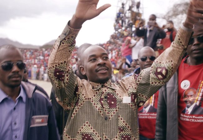Nelson Chamisa in President by director Camilla Nielsson