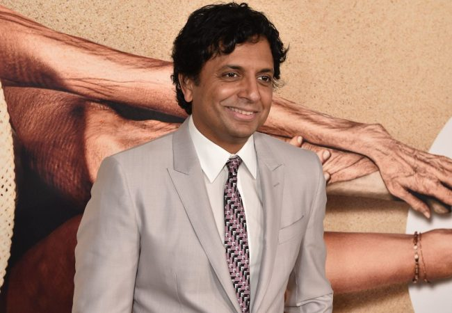 M. Night Shyamalan © Bryan Bedder/Getty images for Universal Pictures